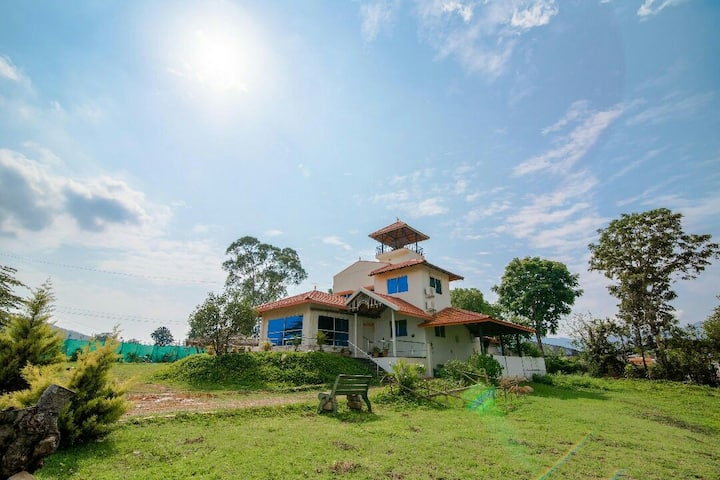 3 bedroom  villa in chikamagalur
