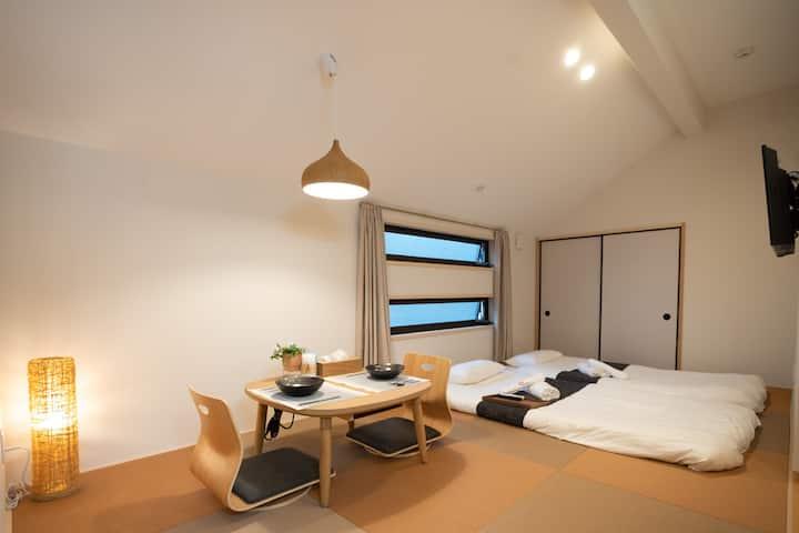HANASTAY花渓居 · 梨(NASHI) 2楼 全新精装超舒适 心斋桥10分钟 南海线直达机场