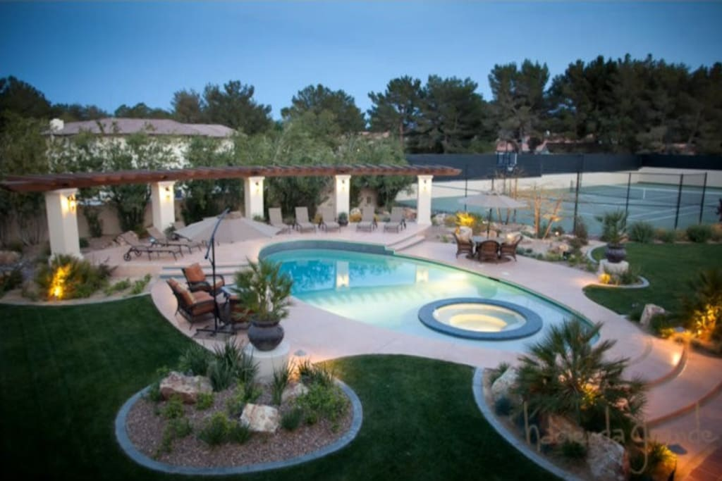 Spanish mansion 2 channing tatum 39 s 5m mansion - 10 bedroom house for rent in las vegas ...