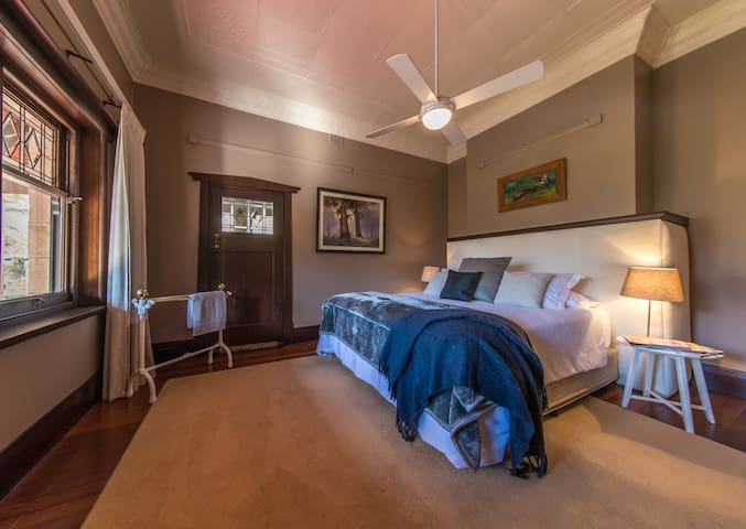 Master Bedroom Suite with King sized bed.