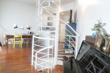 Loft triplex aux buttes Chaumont - Paris - Loft