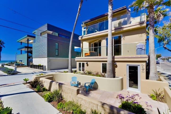 Ocean Views and Breezy Balconies in Luxury Home!