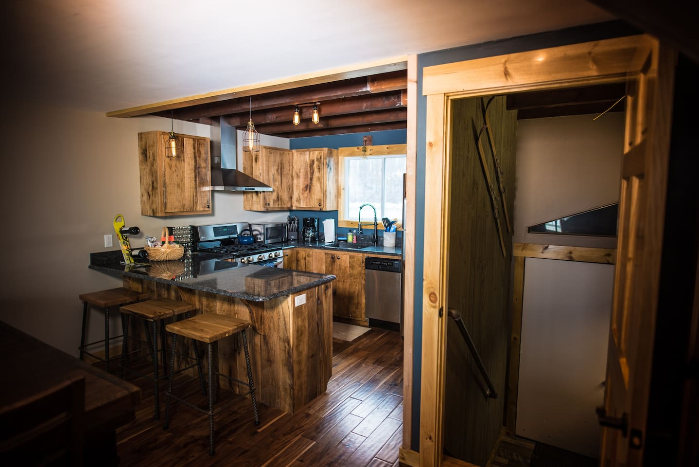 Kitchen and private entrance