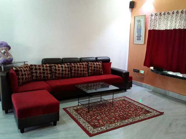 Salt Lake | 3 BHK | AC | Free Wifi - Kolkata - Apartment