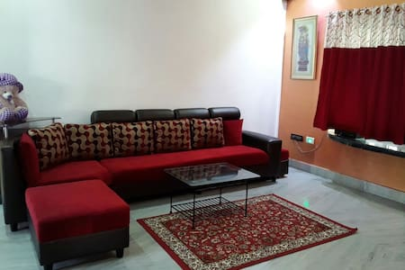 Salt Lake | 3 BHK | AC | Free Wifi - Kolkata - Appartement
