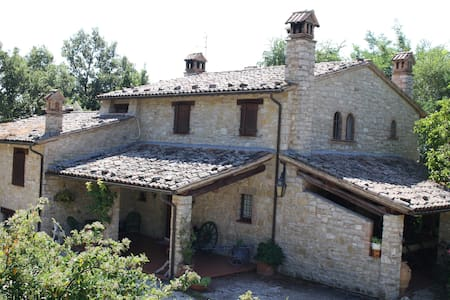 Indipendent house with pool in Todi - Quadro