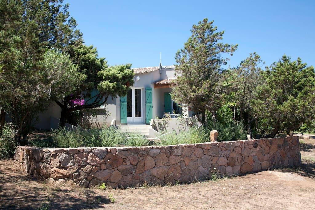 Villa (côté Nature)