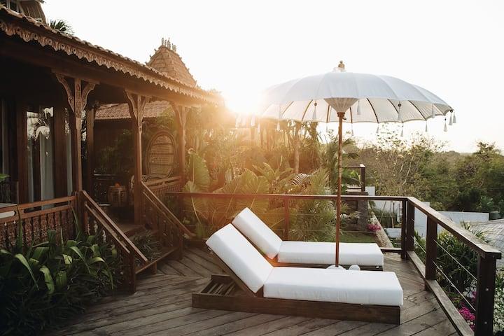 Ocean View Luxury Villa : Untouched parts of Bali