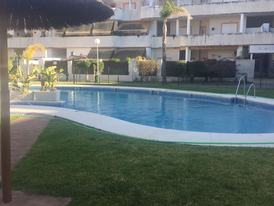 gran piso con piscina y parking apartments for rent in