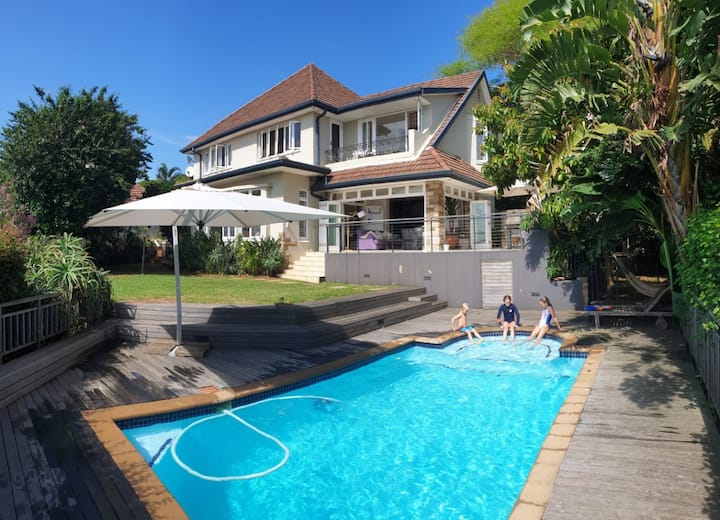 Perfect Family Home to relax in and explore Durban
