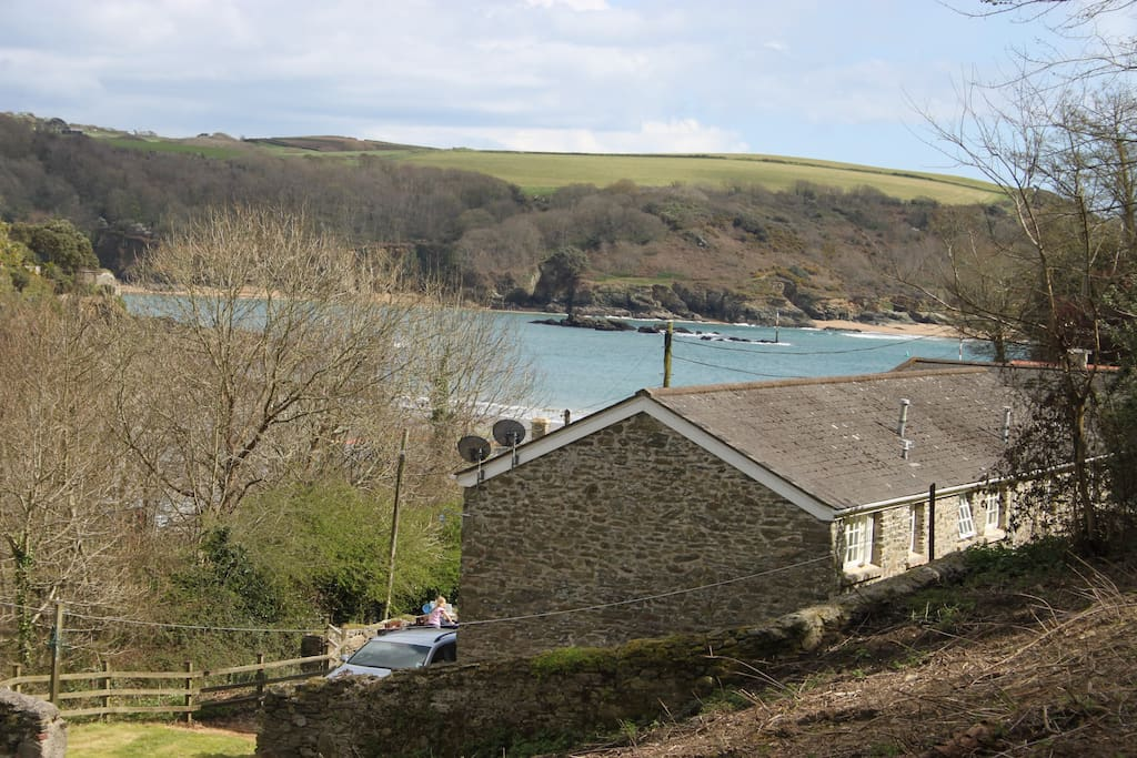 At the mouth of the Salcombe estuary