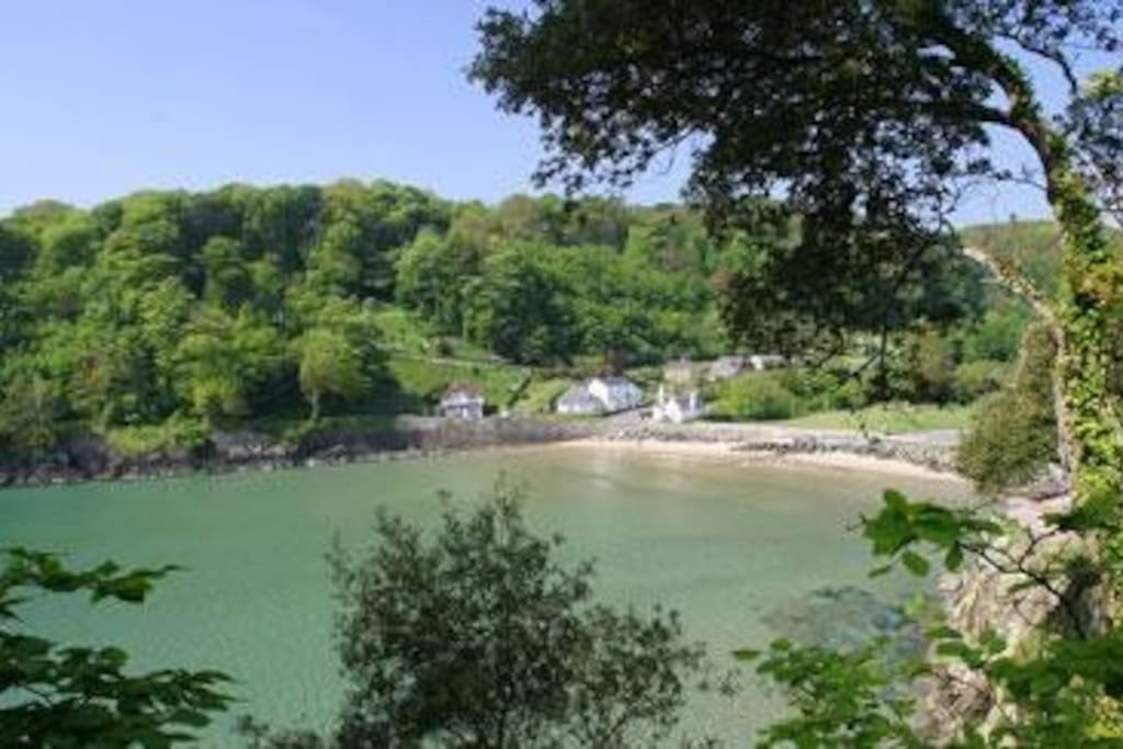 cottages are 100m from North Sands beach