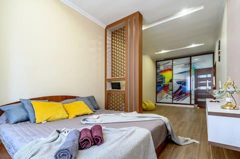 Arcadia apartment 1 BDR+studio