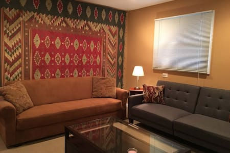Private living space/20minutes from NYC - Ház