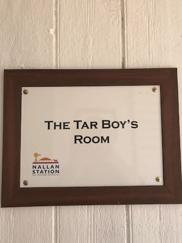 Your Room is clearly signed.