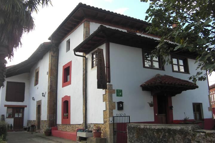 autentica casa de labranza asturiana del siglo XVIII