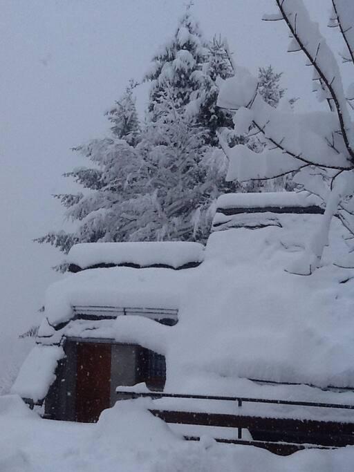 en hiver ....