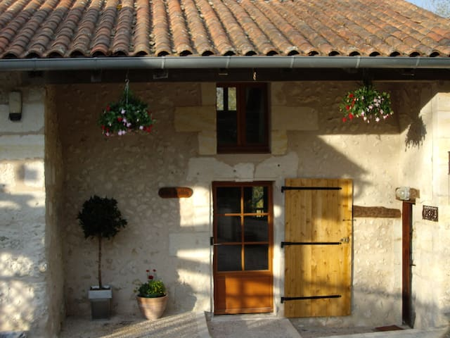 Restored gite 1 bed (for 2-4) pool  - Ribérac