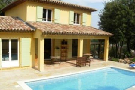 Villa privée avec piscine privée. - Trans-en-Provence - Casa