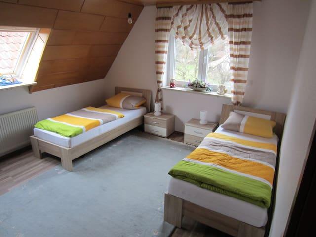 Zweibettzimmer in gemütlicher Wohnu - Isenbüttel - Appartement