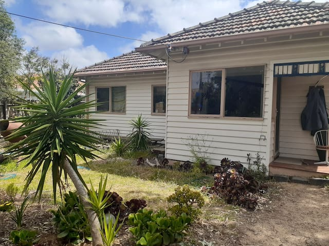 Fun family weatherboard home in leafy Coburg.