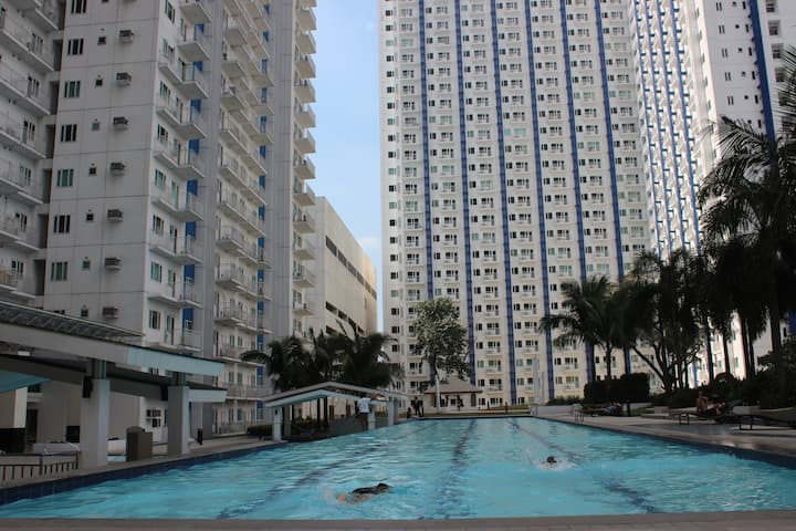 Affordable and newly painted fully furnished condo
