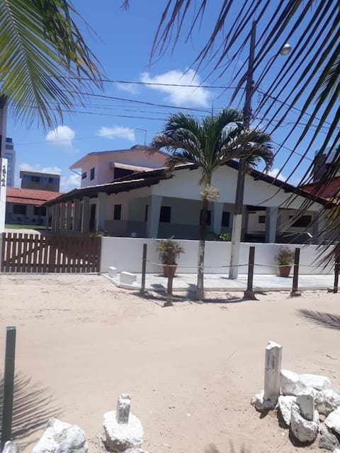 Large house on the seaside of Poço Beach - Cabedelo