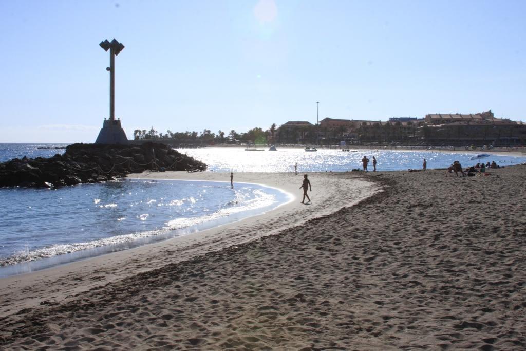 Playa de Las Vistas a 100 metri da casa