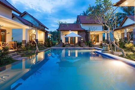 sisin villas view. great rice view - Blahbatuh