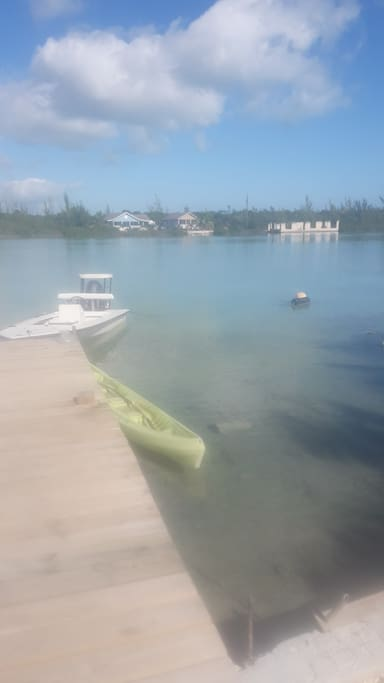 Seaside dock view