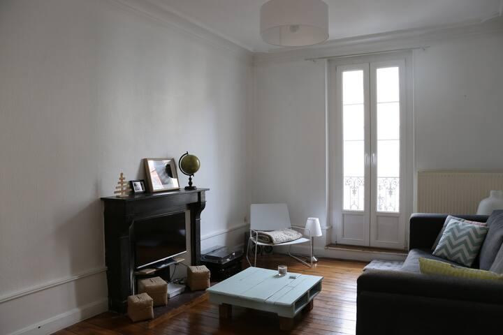Joli appartement au coeur de Dijon - Dijon - Apartment