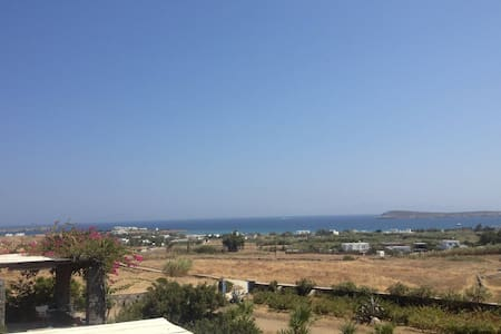 Dreamy Villa on Paros Golden Beach - ปารอส