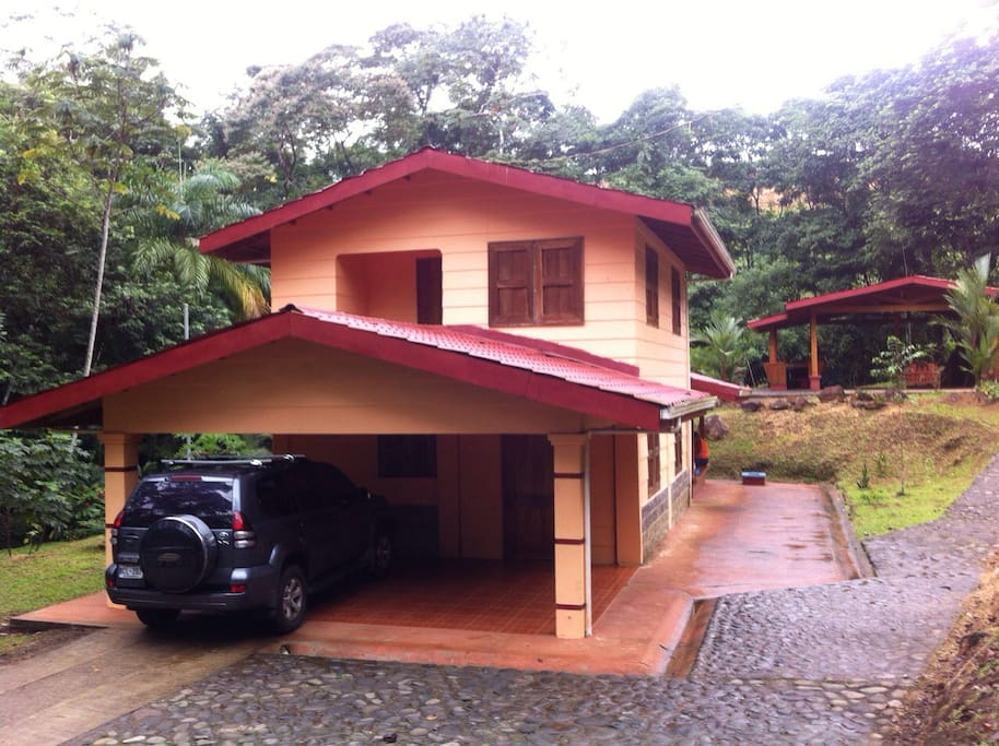 Life with the natura l n houses for rent in la fortuna for Costa rica house rental
