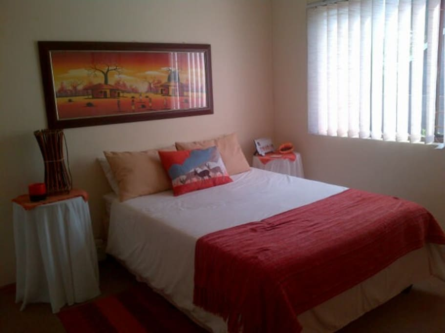 The bedroom where you will stay which has dstv too!!