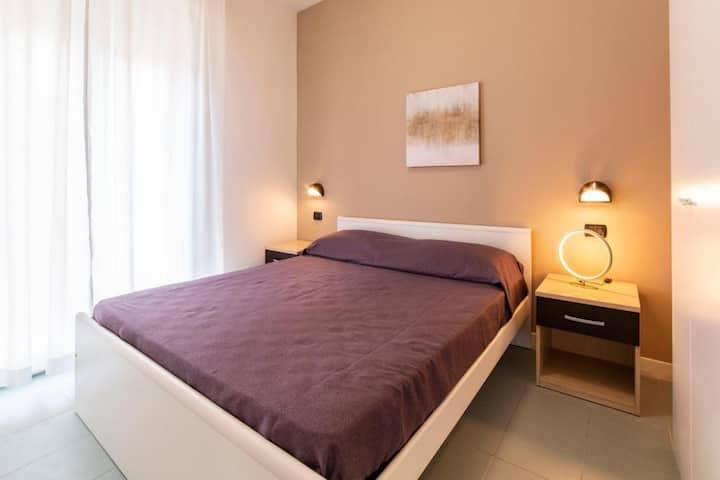 Pang-apartment sa buhangin sa Rimini