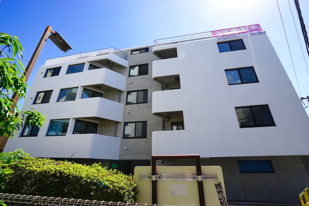 Our brand-new modern Japanese apartment was just built in Sep 2016.