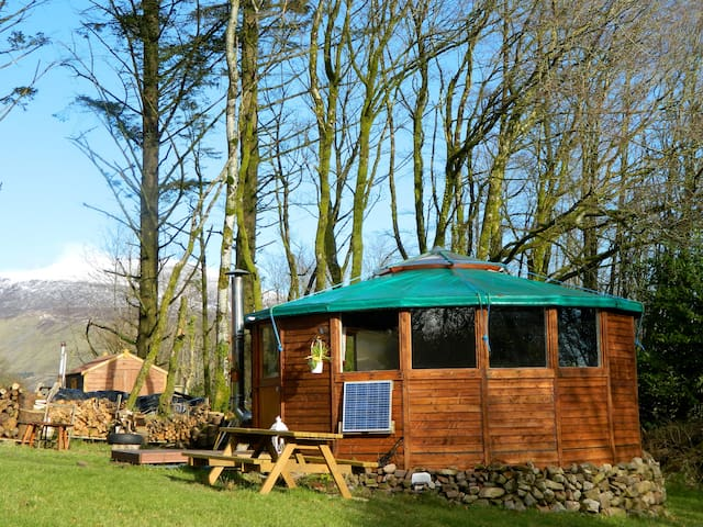 Glamping in Galtee Mountains - Limerick - Yurt