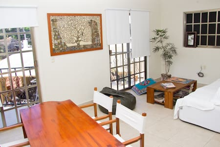Charming, quiet and bright apartment! - Cozumel
