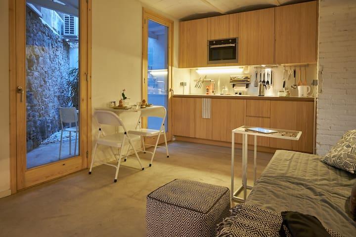 Boutique Design apartment near the beach Poblenou - Барселона