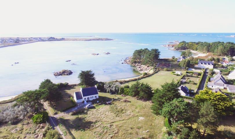 Villa Océane -  pieds dans l'eau + jacuzzi