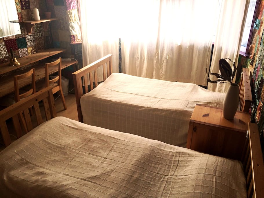 Funky Twin Bed 4min From Tube Houses For Rent In W3