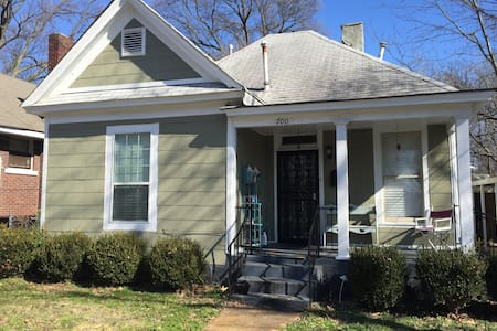 Charming 2 BR 2 BA Midtown House - Memphis