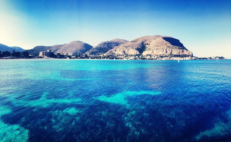house beach mondello sicily - Palermo