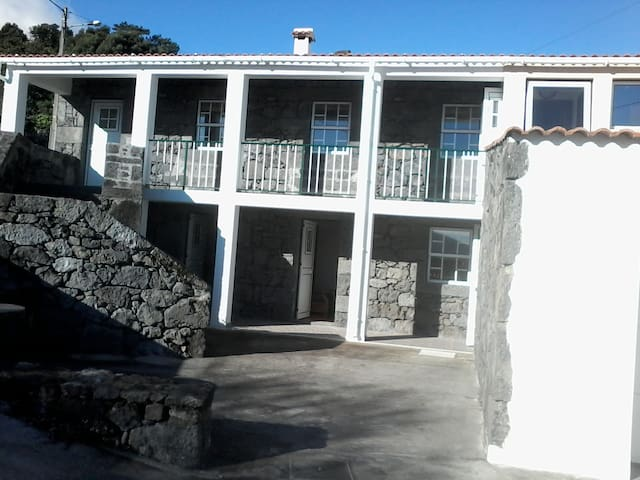 Outside view, front.