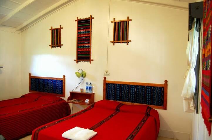Habitación popular en hotel  La Casa de don David