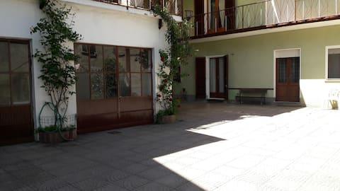 La casa dei nonni a Moncrivello P.T.