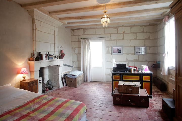 Belle chambre Candes St Martin (37) - Candes-Saint-Martin