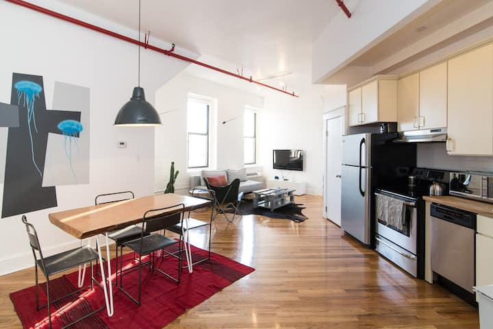 1BR Loft: Cleaning CDC guidelines implemented