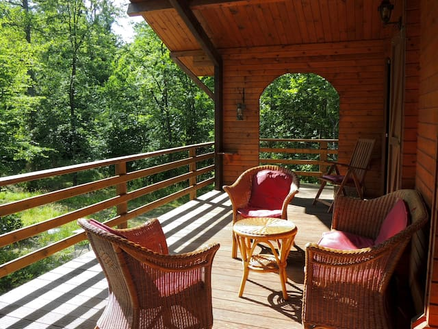 Stay in a superb chalet in the Ardenne Forest
