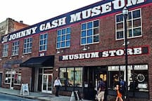 Johnny Cash Museum! Just a few blocks away!